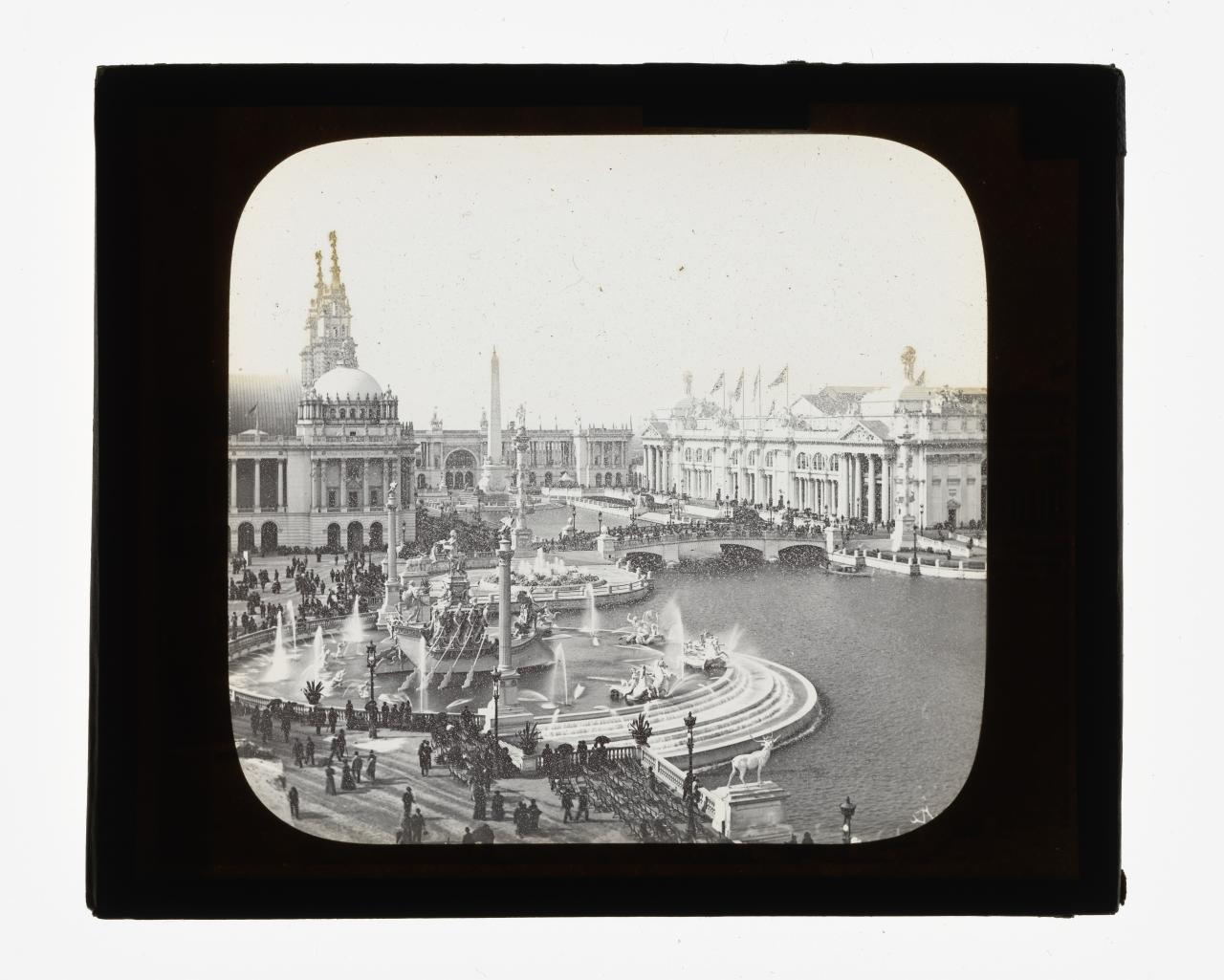 World's Columbian Exposition, Chicago. Columbian fountain
