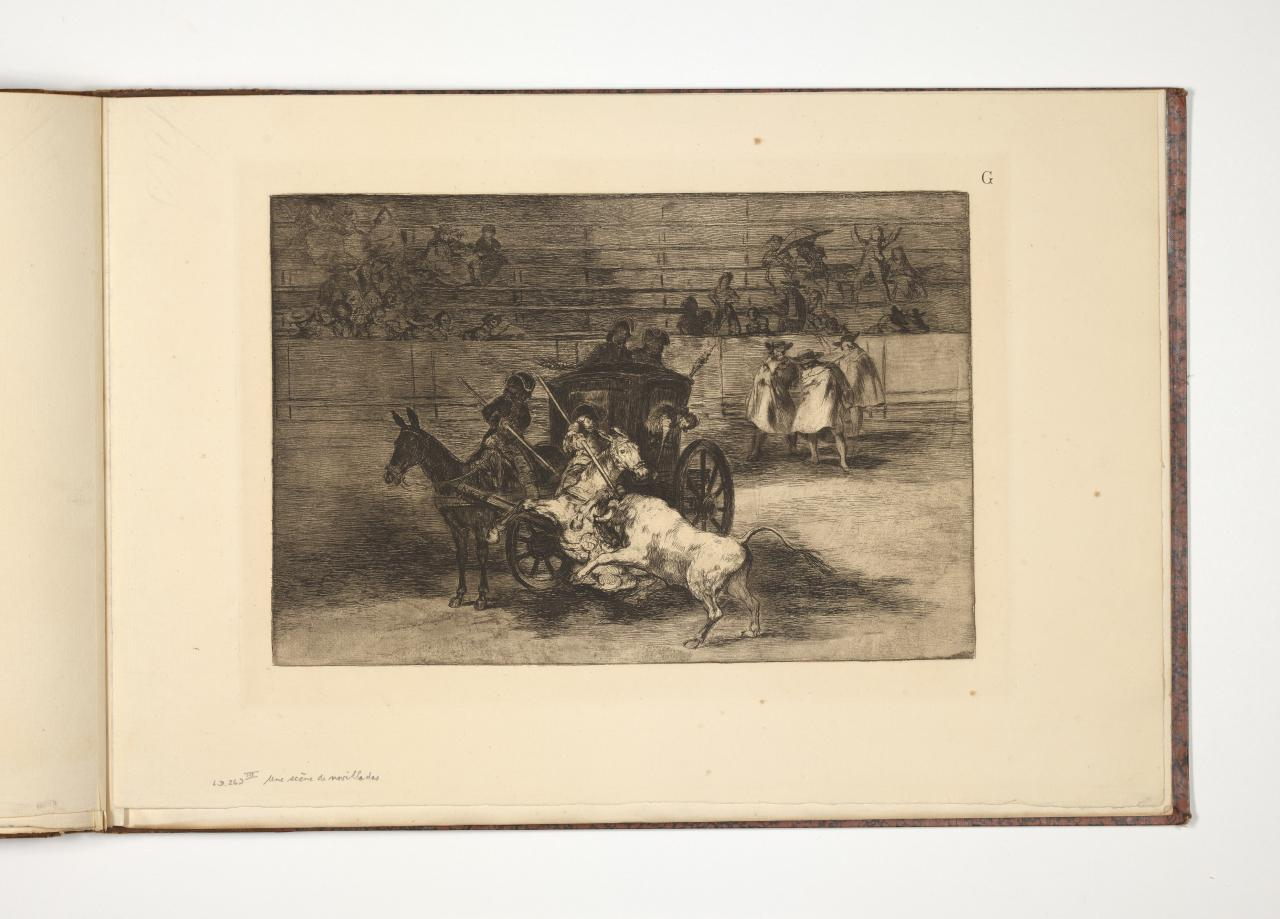 Fight in a carriage harnessed to two mules