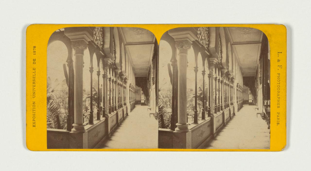 Universal Exposition, Paris. No. 11. Algerian section, stereograph