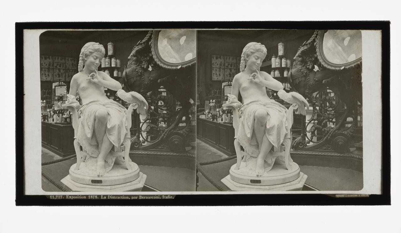 Universal Exposition, Paris. 11,717. The distraction by Bernasconi, Italy, stereograph