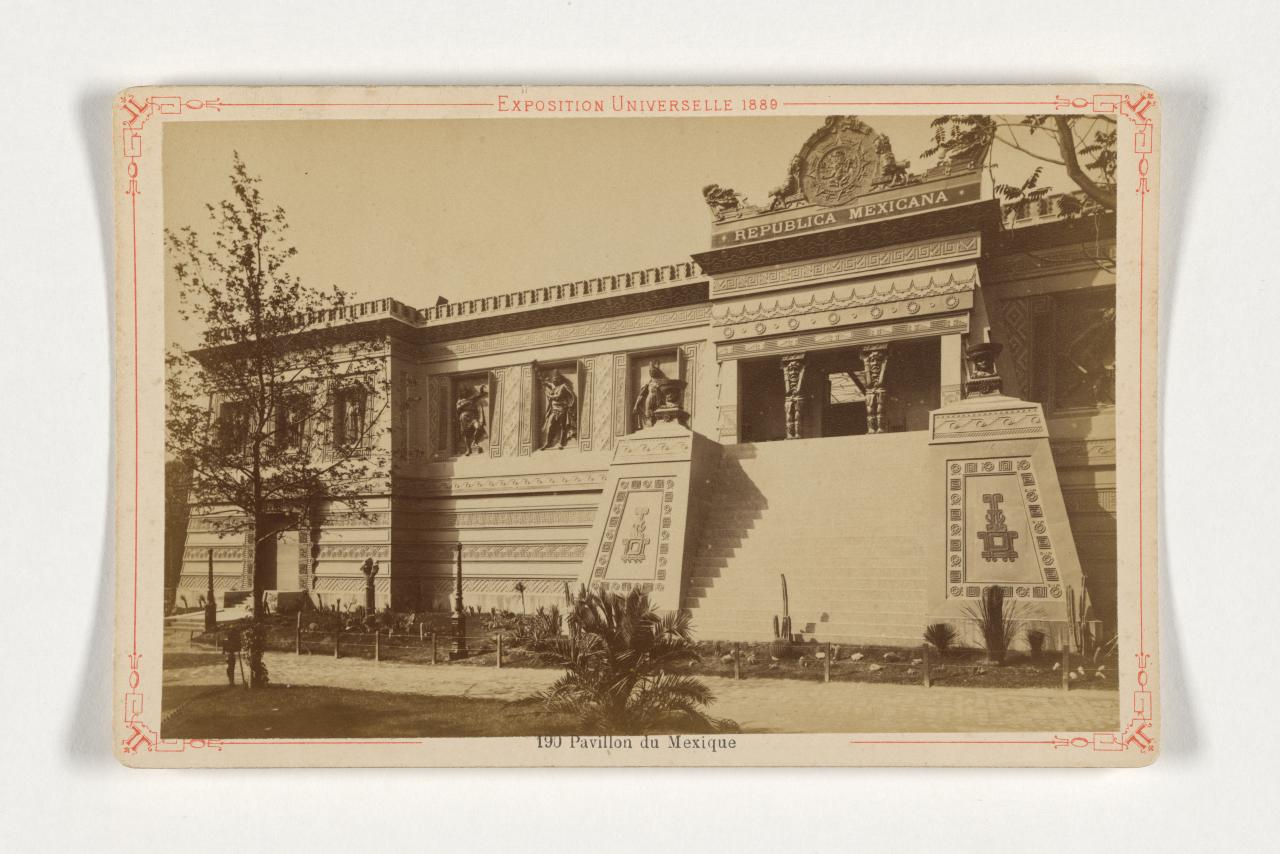Pavillon mexicain, Exposition universelle de Paris 1889