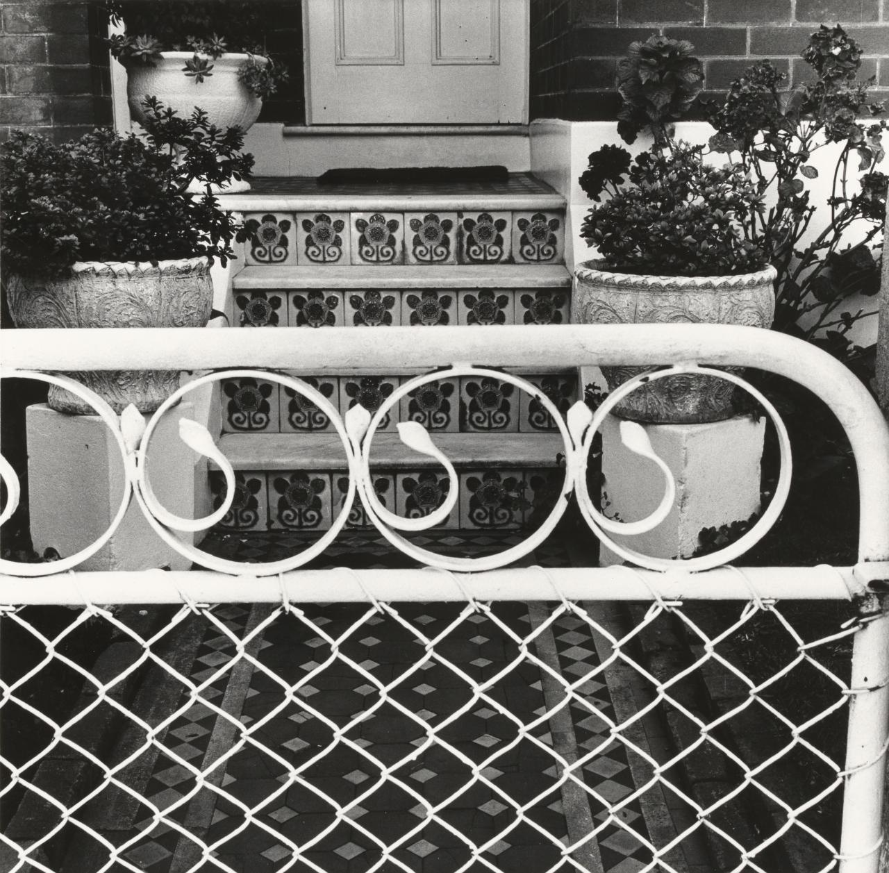 House front in Marrickville, Sydney, March 1975