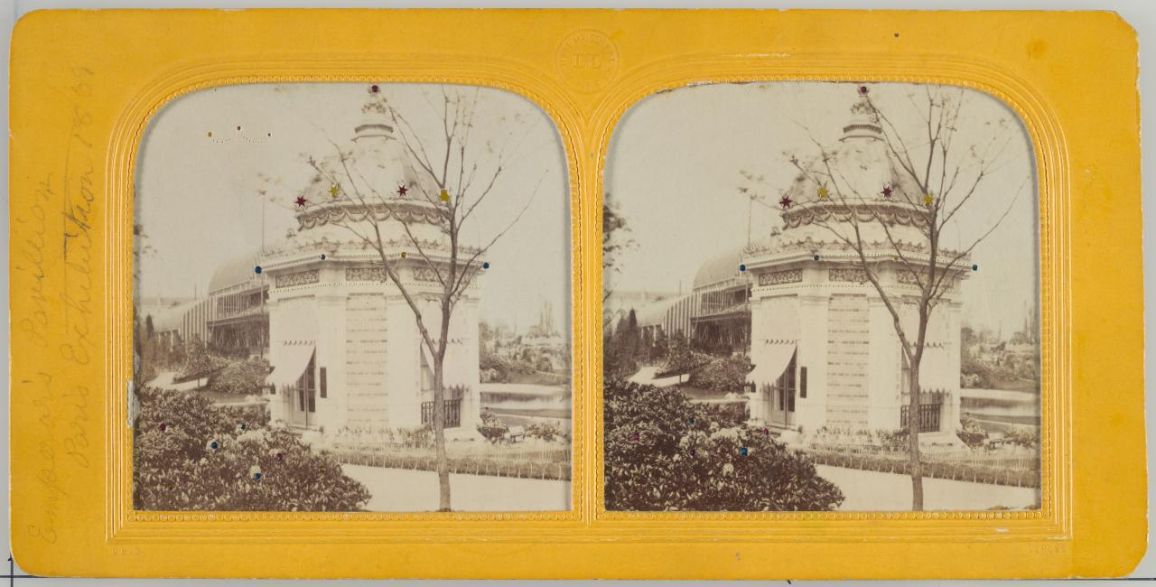Emperors Pavillion, Exposition Universelle, Paris