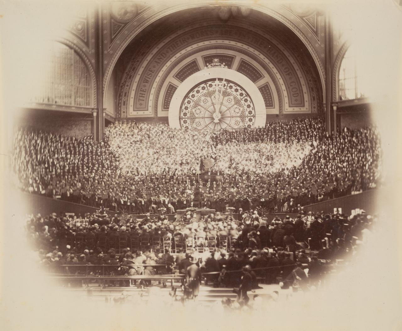 The Orchestra, Opening of The Great Exhibition 1862