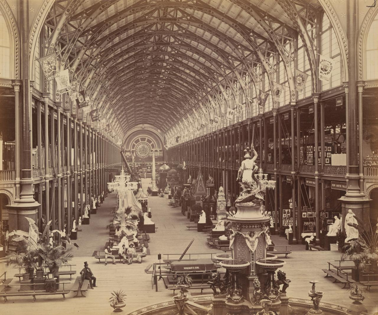 International Exhibition 1862 (showing the New South Wales court)