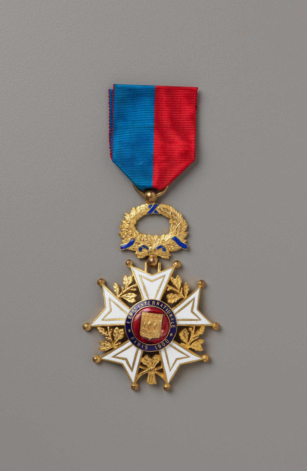 Universal Exposition, Paris, award medal