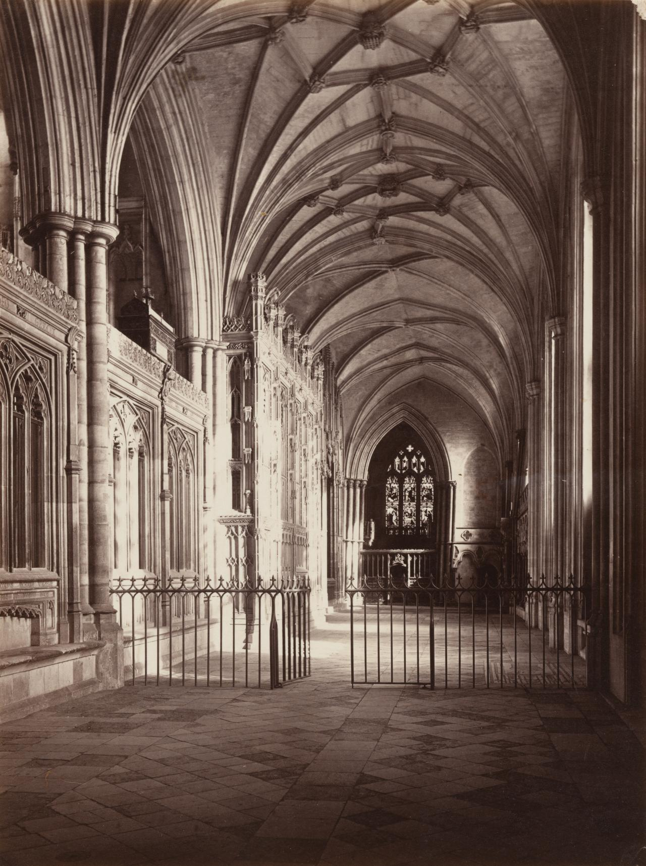 South aisle, Winchester Cathedral