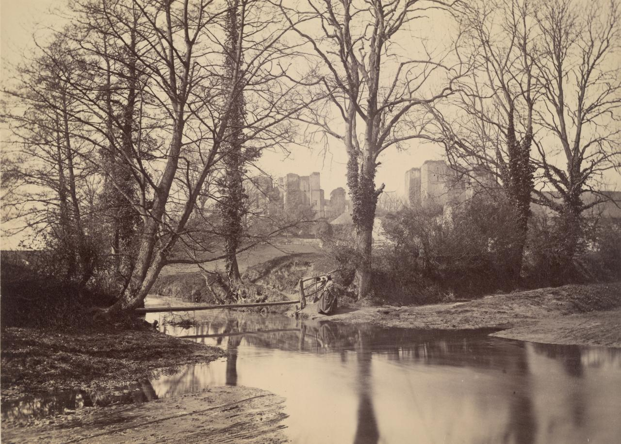 Kenilworth from the brook