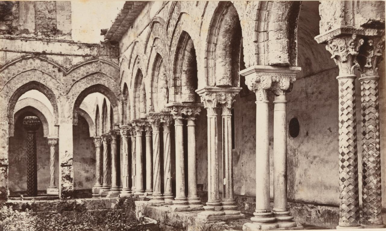 Cloisters, Palermo. Sicily