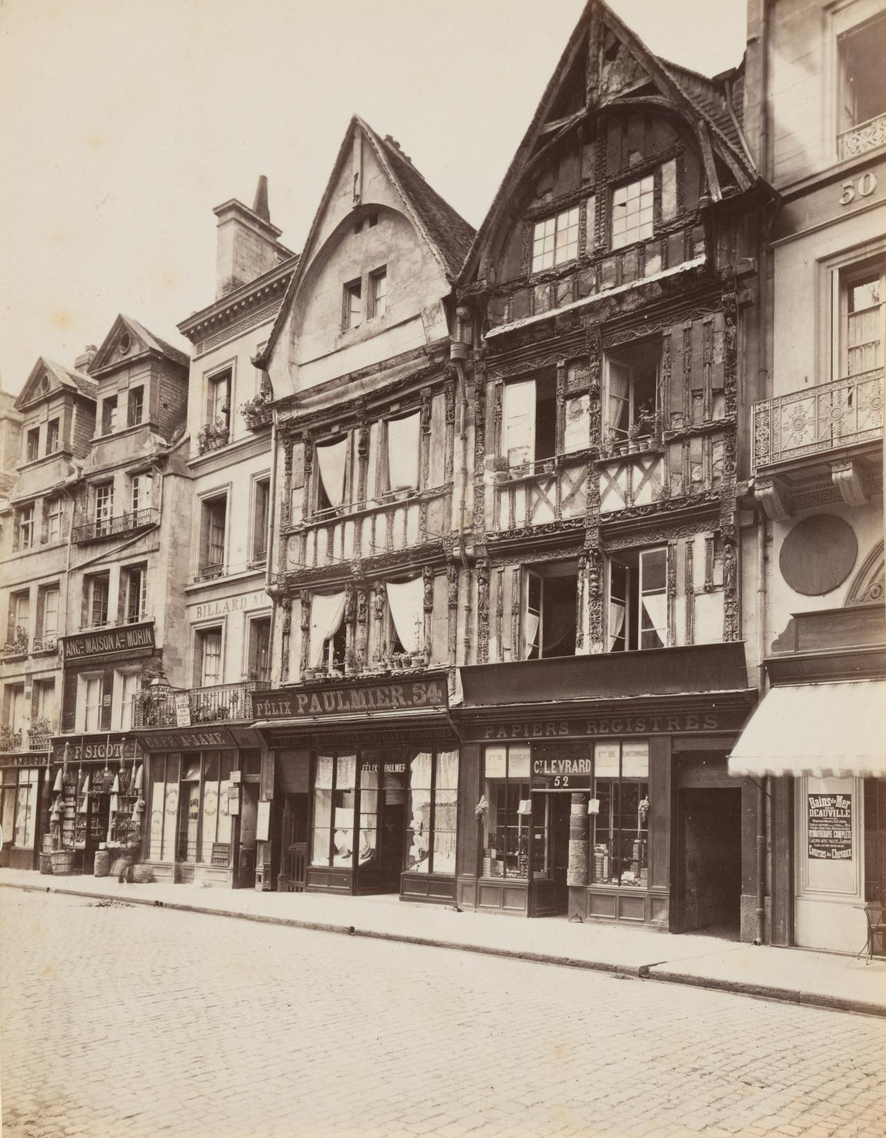 Historic house, A Pierre Caen Street, Normandy
