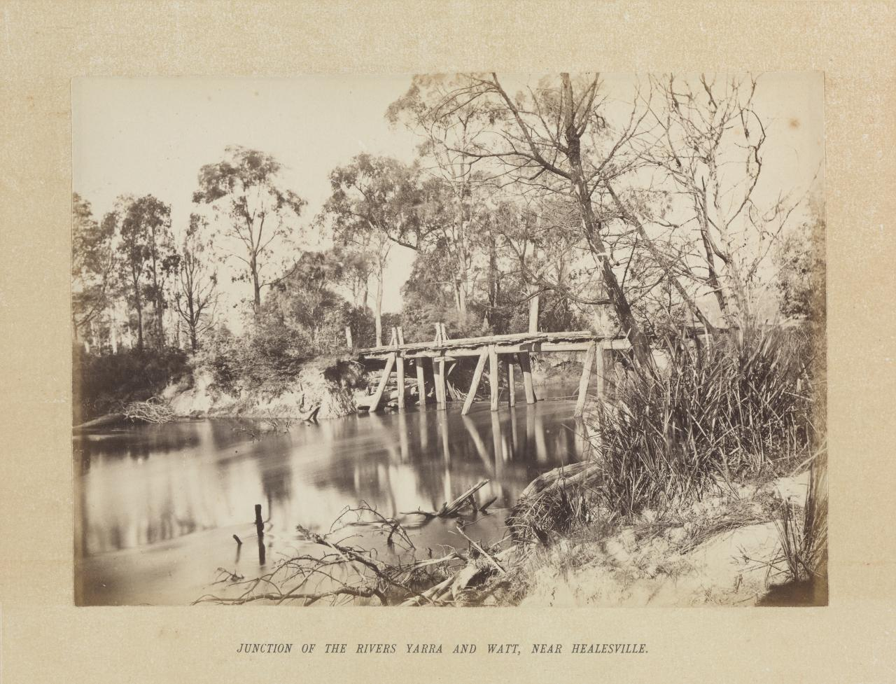 Junction of the Rivers Yarra and Watt, near Healesville