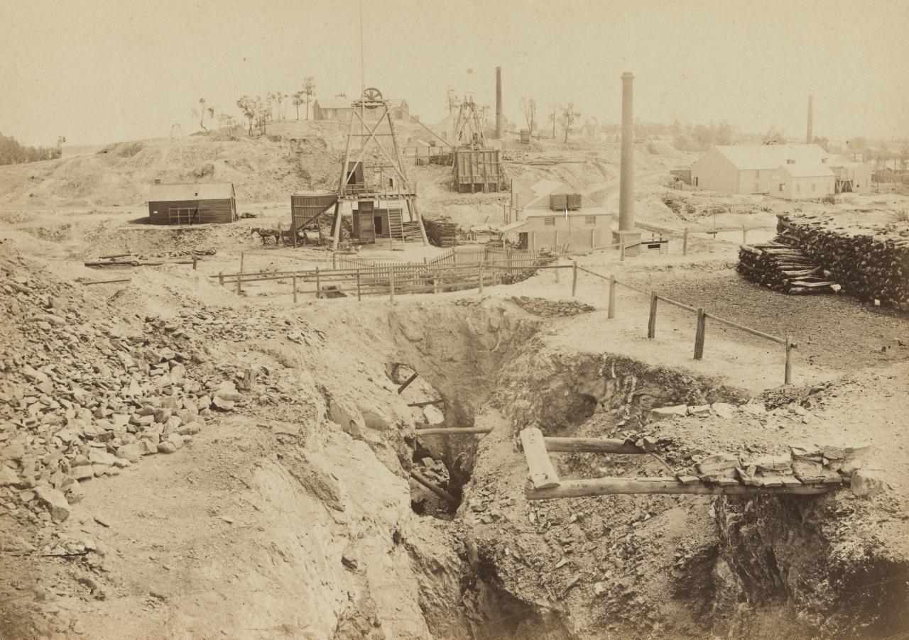 View of Victoria Hill, Bendigo, taken from Old Chum Hill | Nicholas