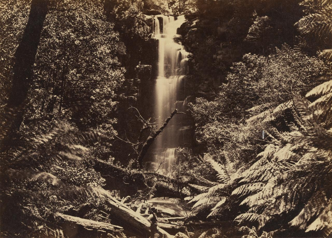 The Erskine River waterfall