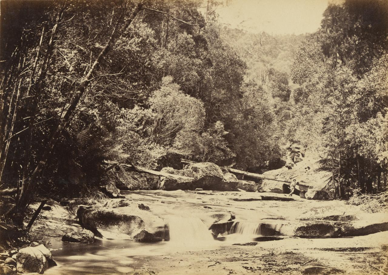 The boulders on the Erskine River