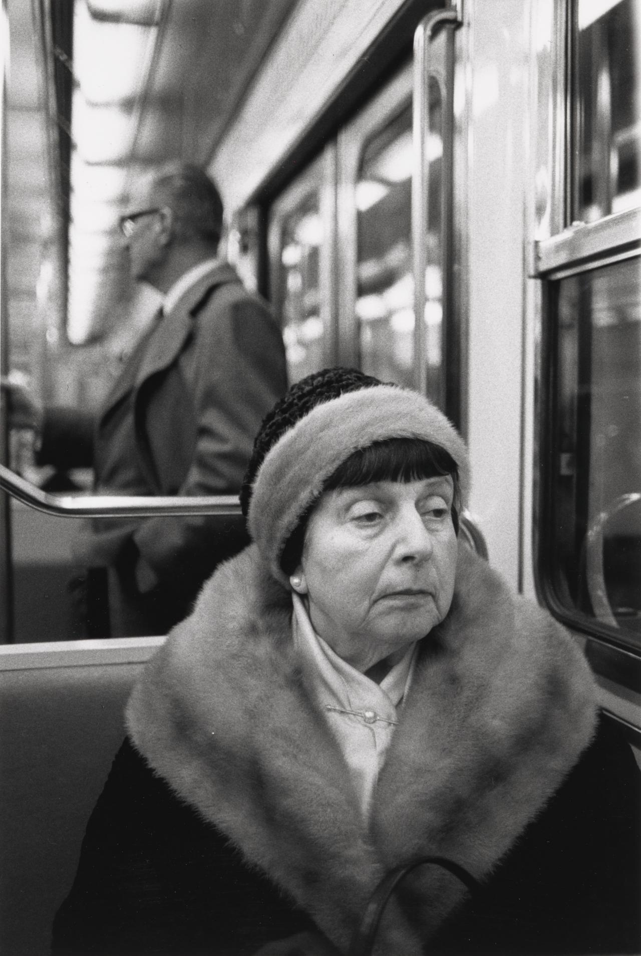 On the Metro, Paris