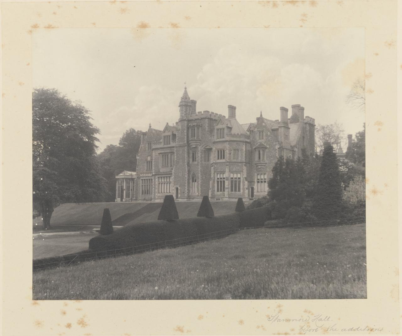Stanmore Hall before the additions