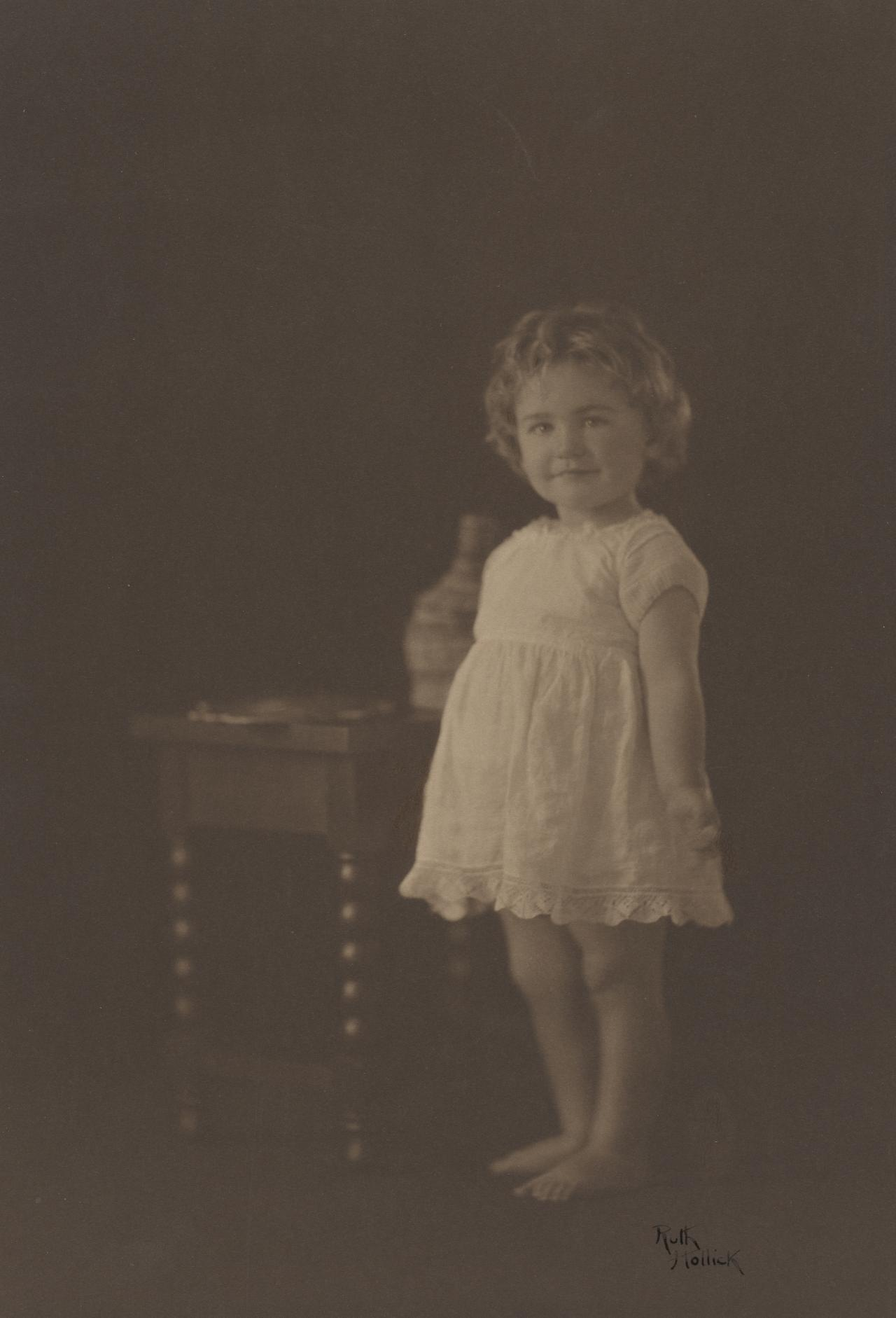 Miss Joyce Dudfield, aged 2