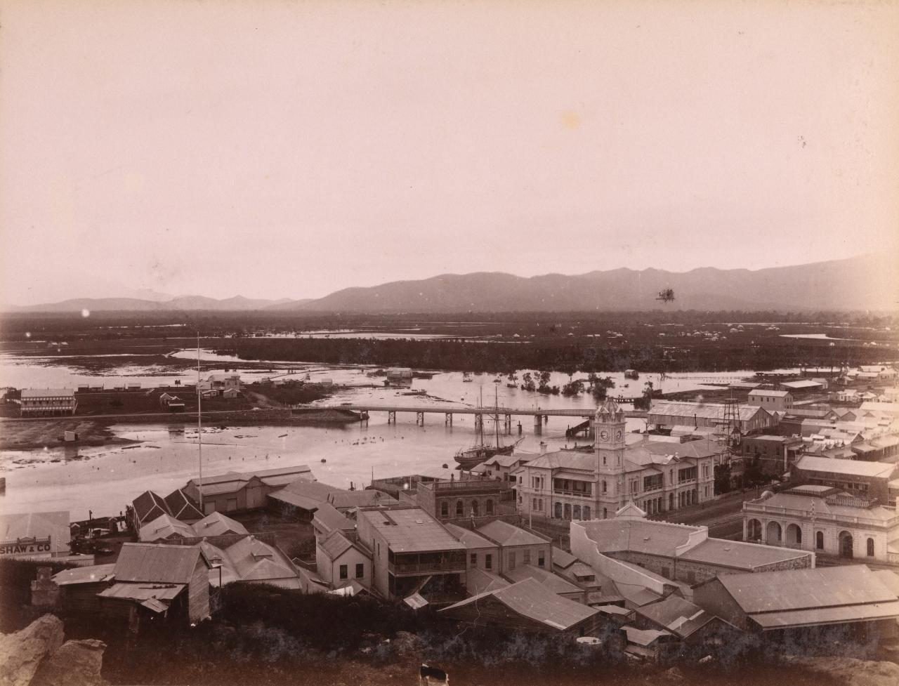 Townsville from Melton Hill