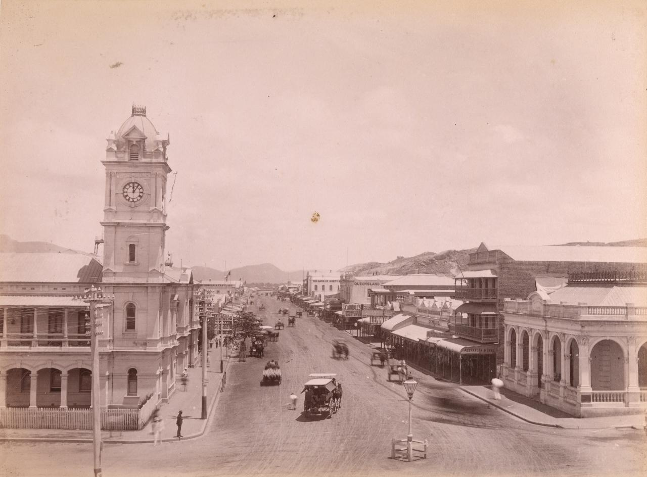 Flinders Street from Denham St (West)