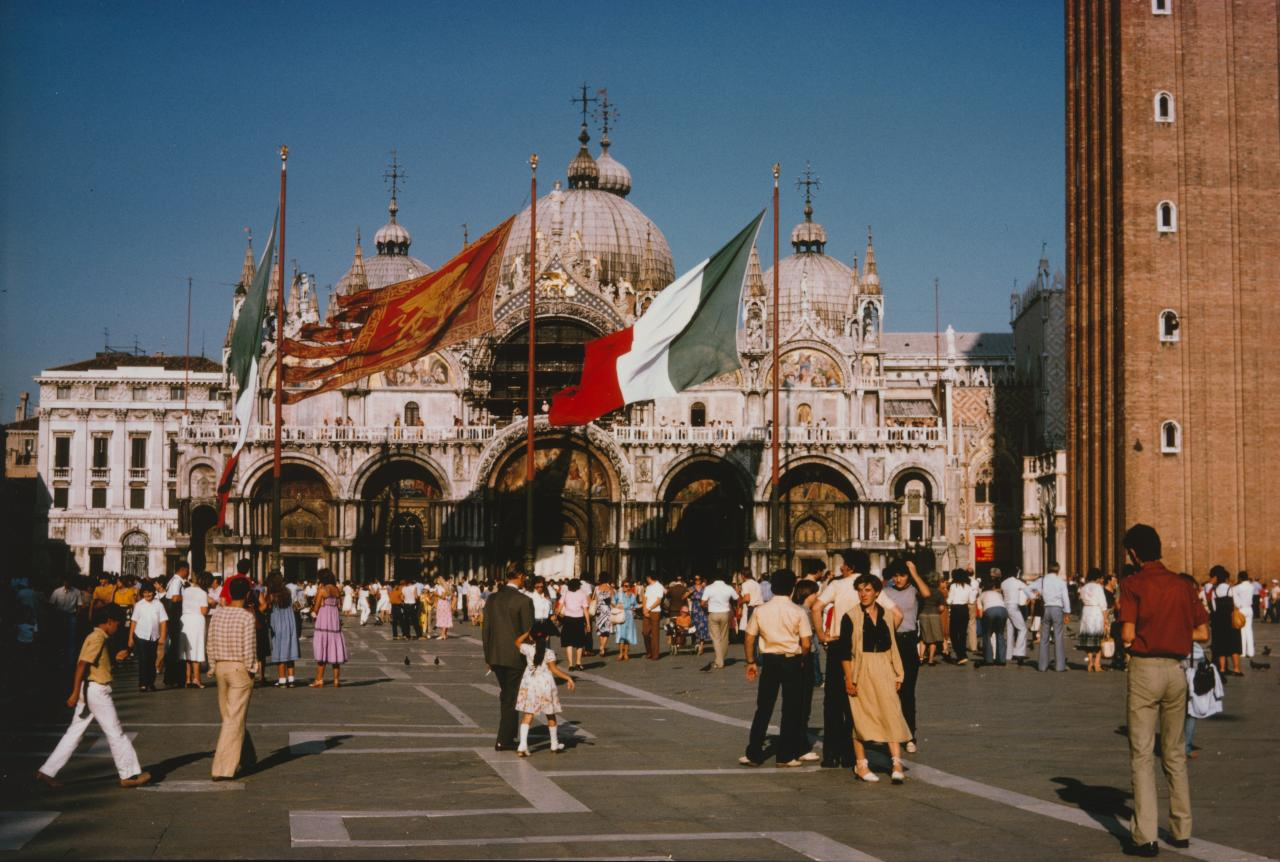 No title (St. Marks Square, Venice, September 1979)