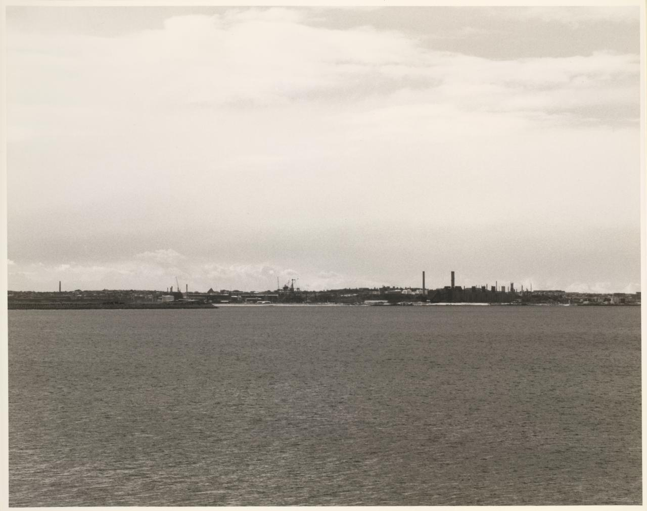Caltex Kurnell refinery from Brighton-le-sands