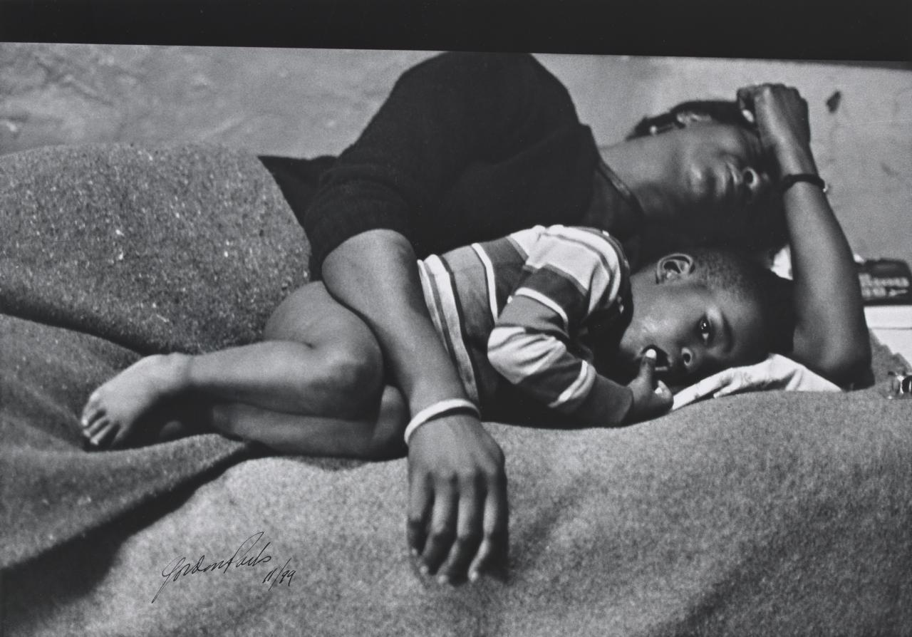 Big Mama and boy, 1961