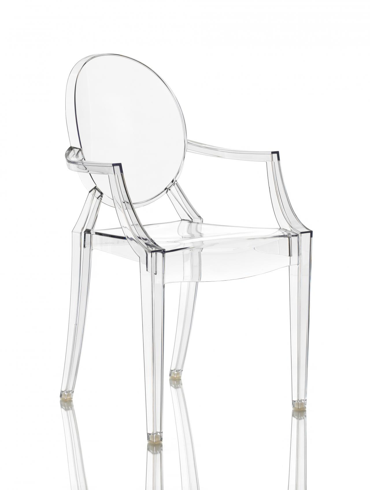 Louis ghost chair (crystal)