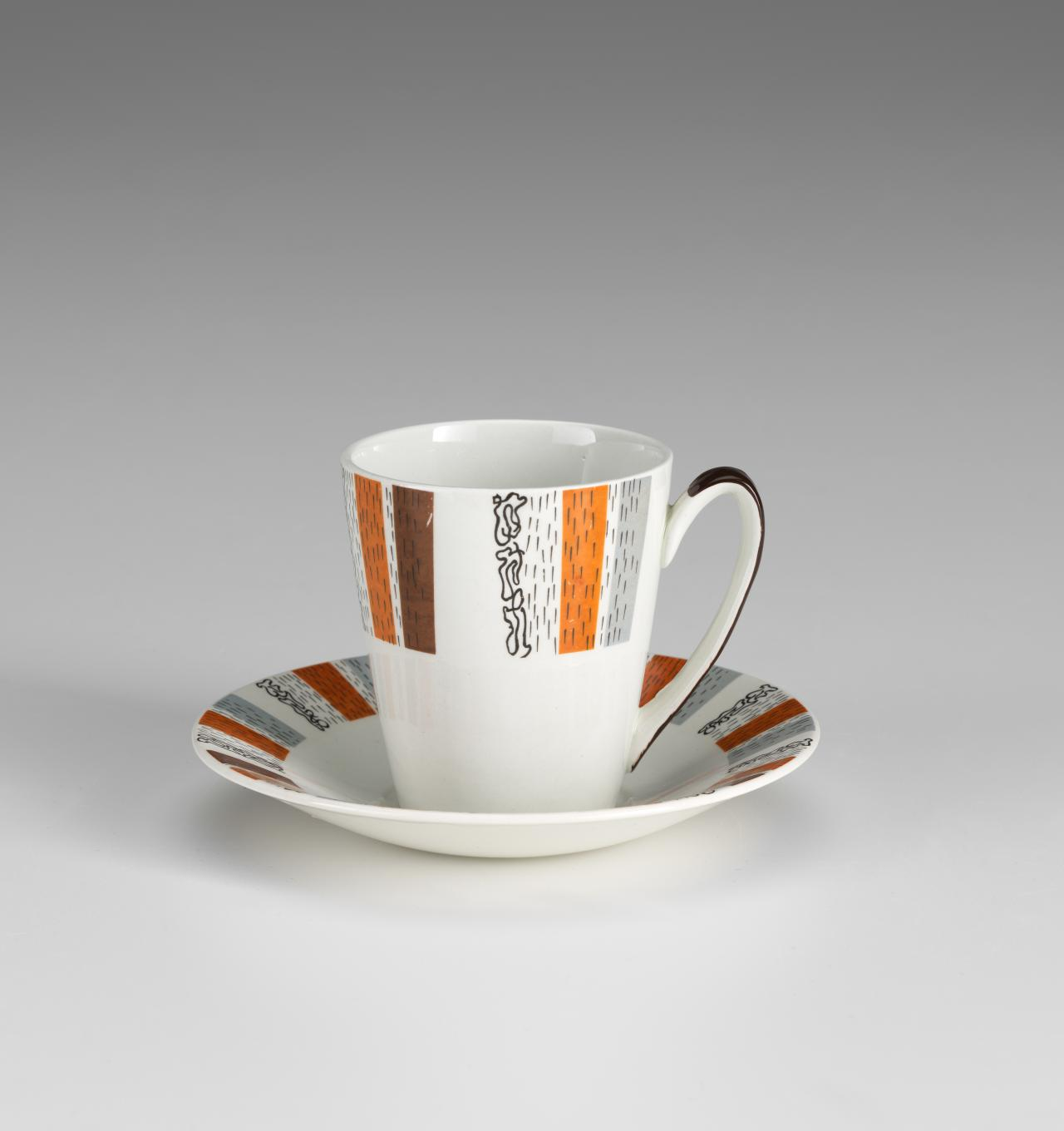 Costa Brava, cup and saucer