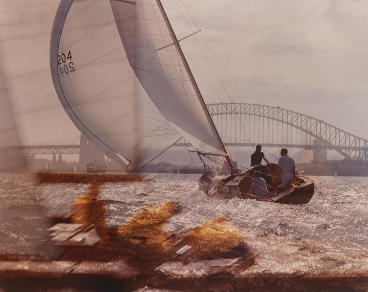 Yacht racing, Sydney Harbour