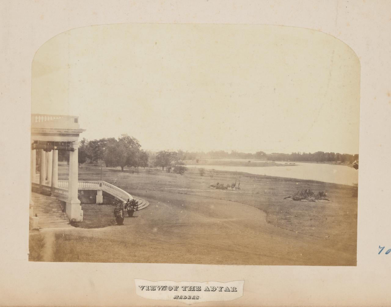View of the Adyar, Madras