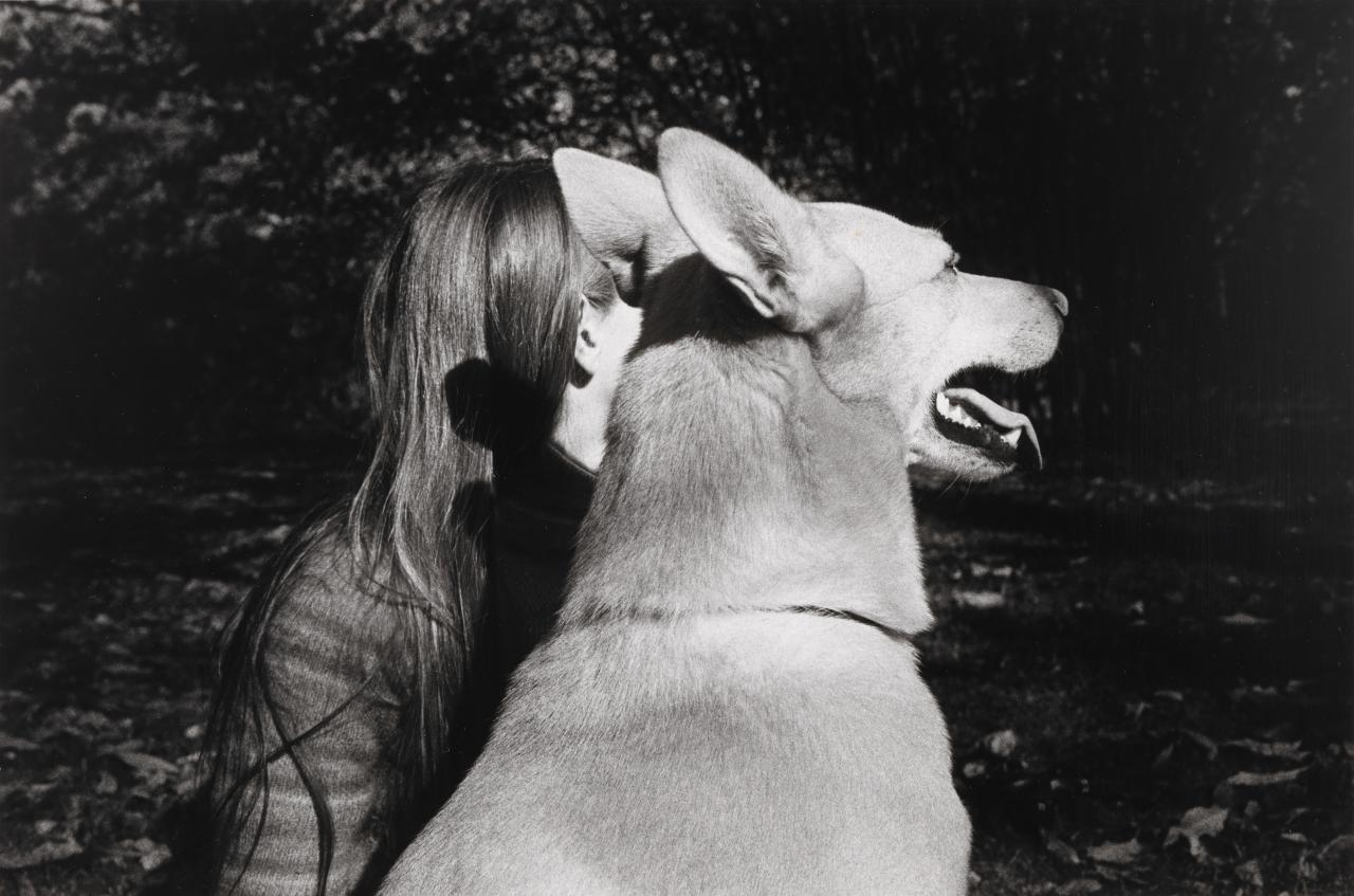 Joan and her dog