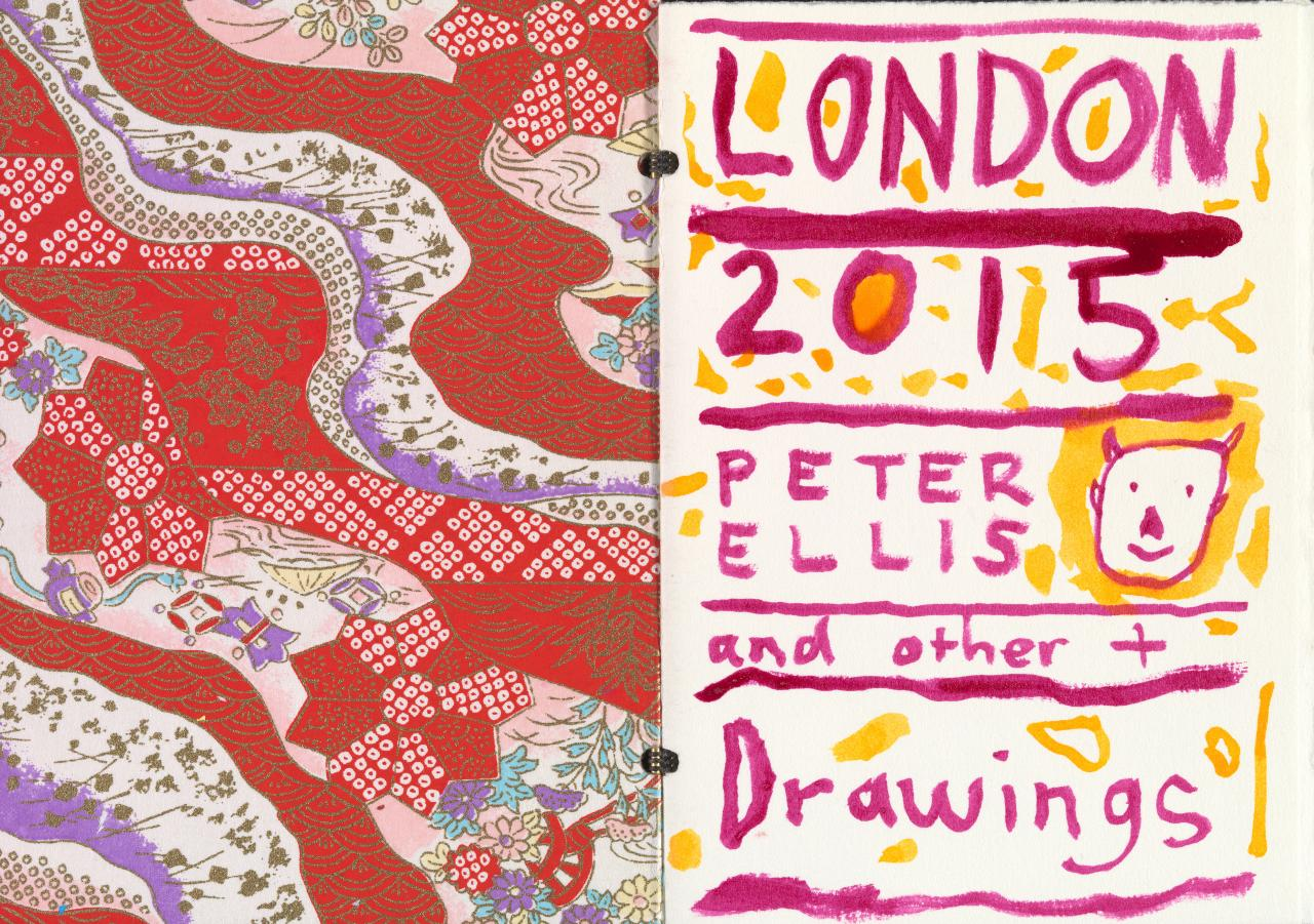 Red book - London and other drawings