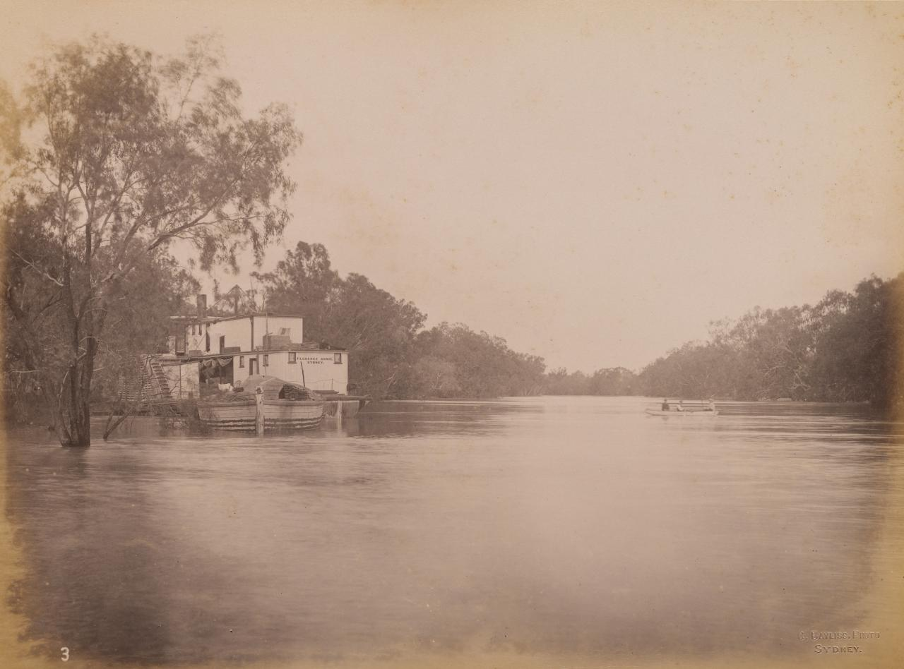 On the Darling River, forty miles below Bourke