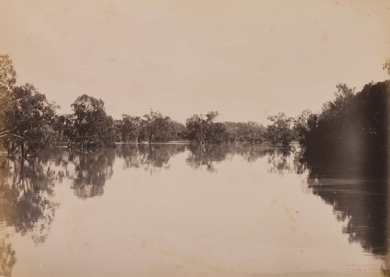 Junction of Darling and Warrego Rivers (first view)