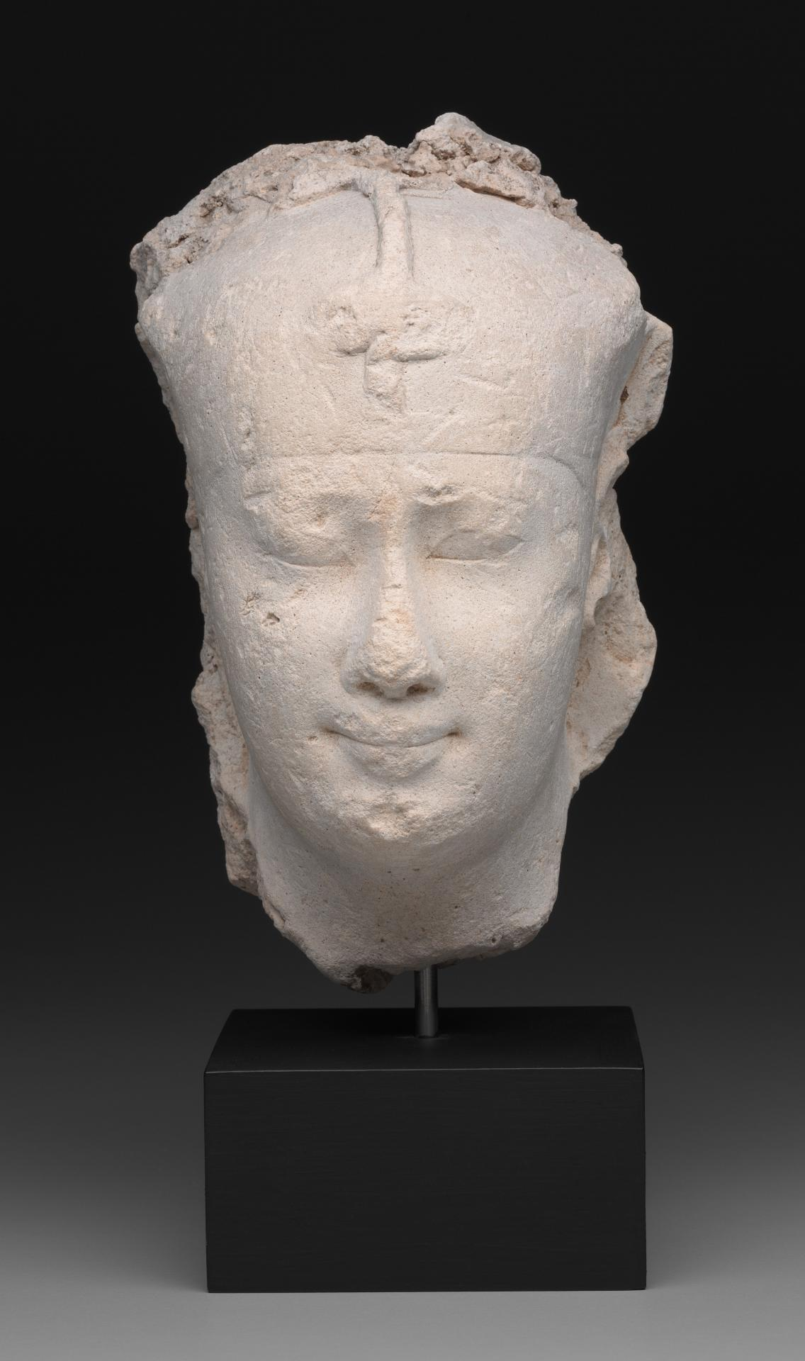 Sculptor's model for the head of a king