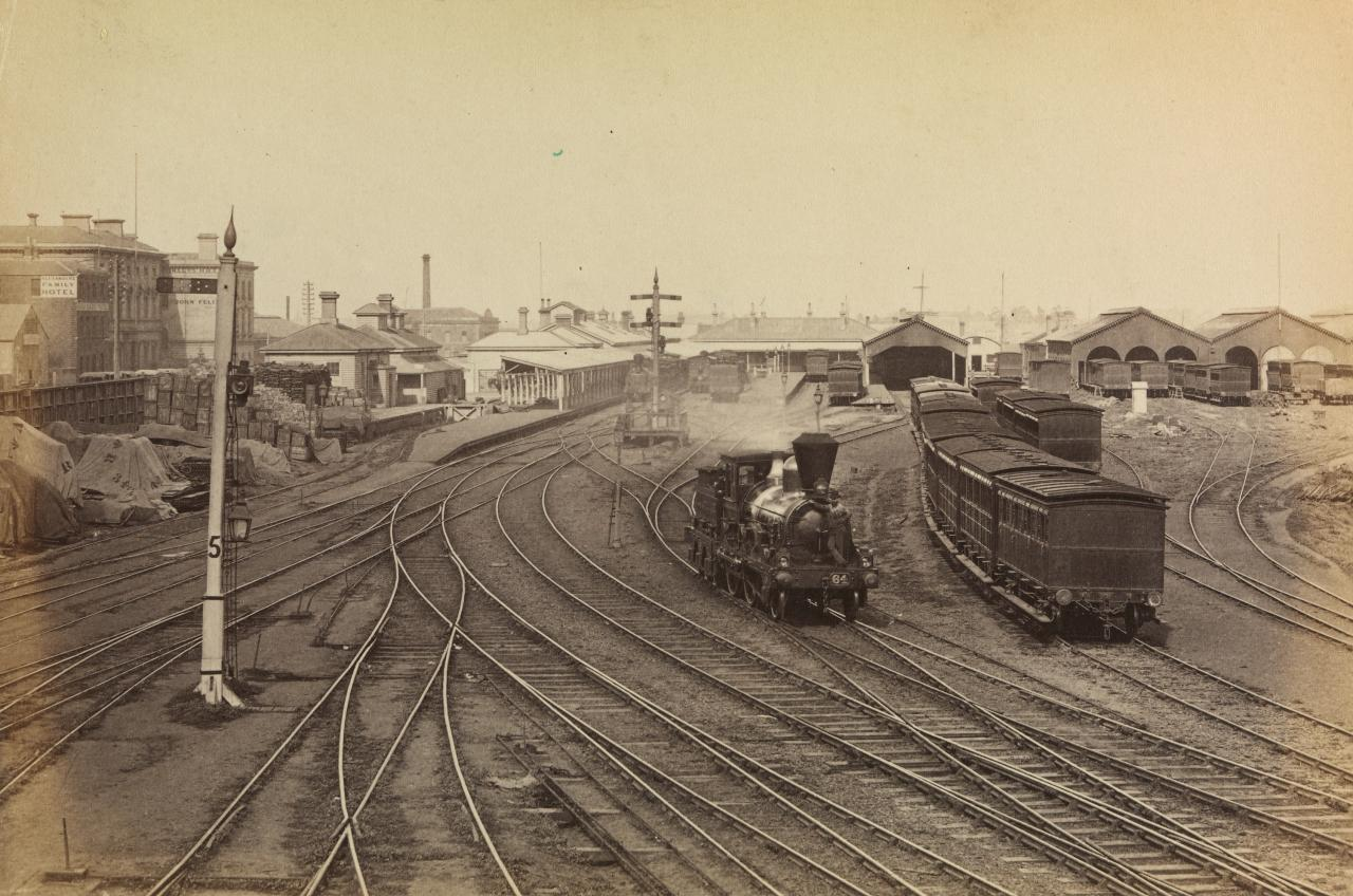 Goods station, Melbourne