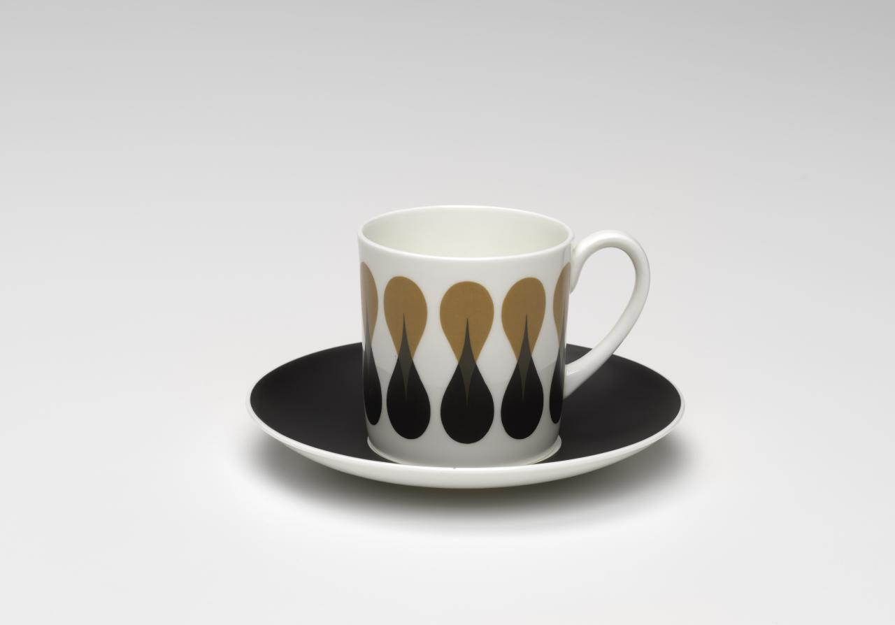 Diablo, coffee cup and saucer