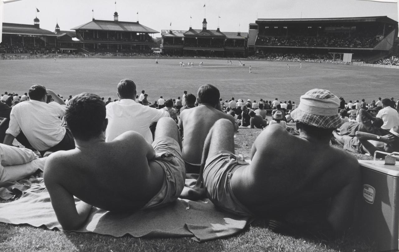 Sydney Cricket Ground from The Hill