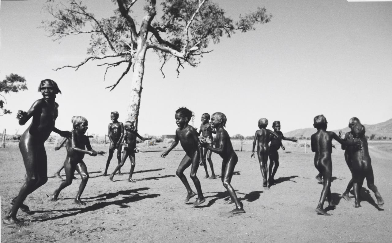 Pitjantjatjara children I, South Australia