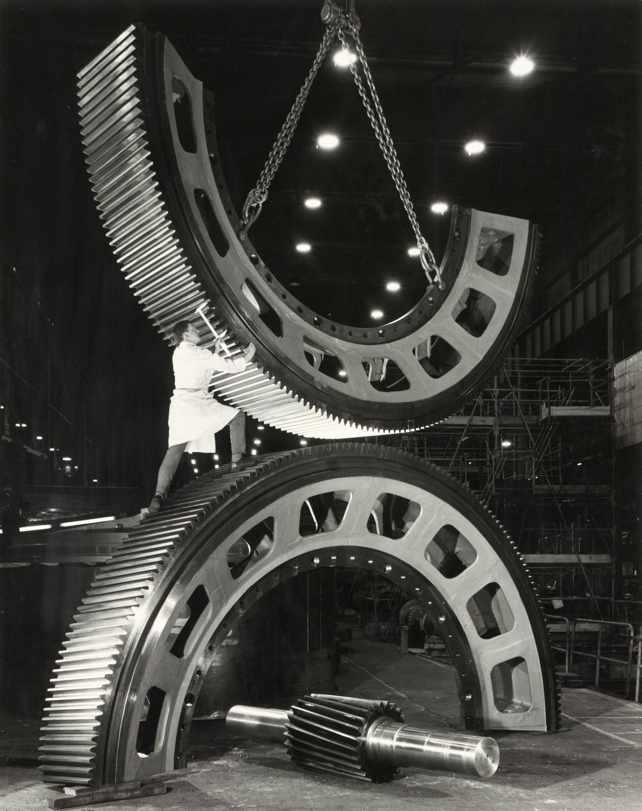 Gears for mining industry, Vickers-Ruwolt, Melbourne