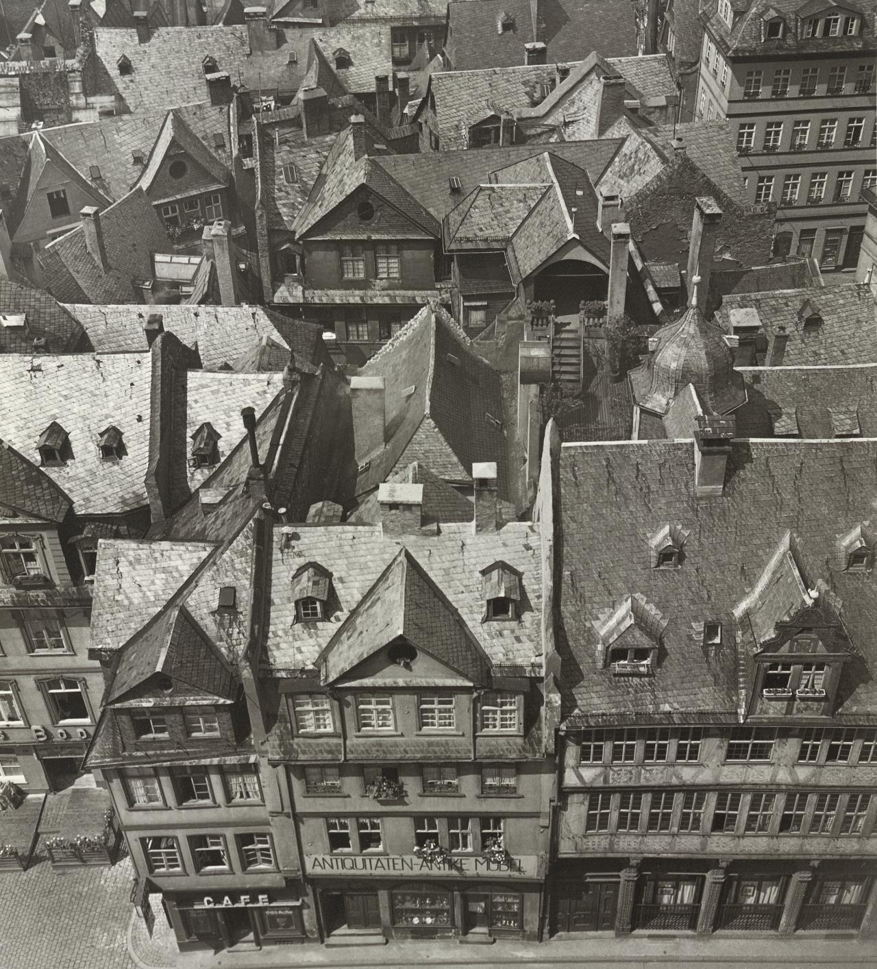 Old Frankfurt before its total destruction in World War II, Germany