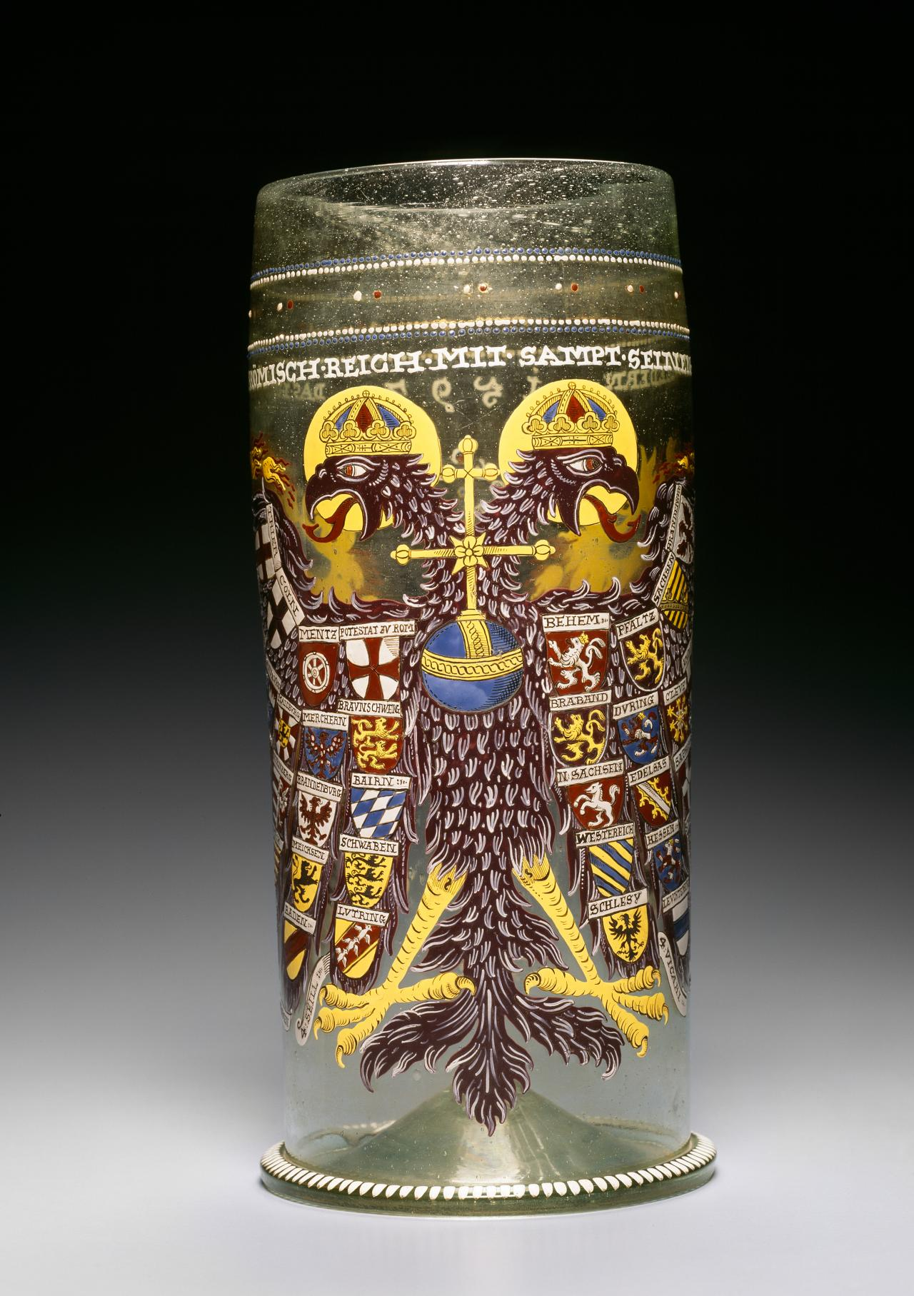 Imperial eagle beaker