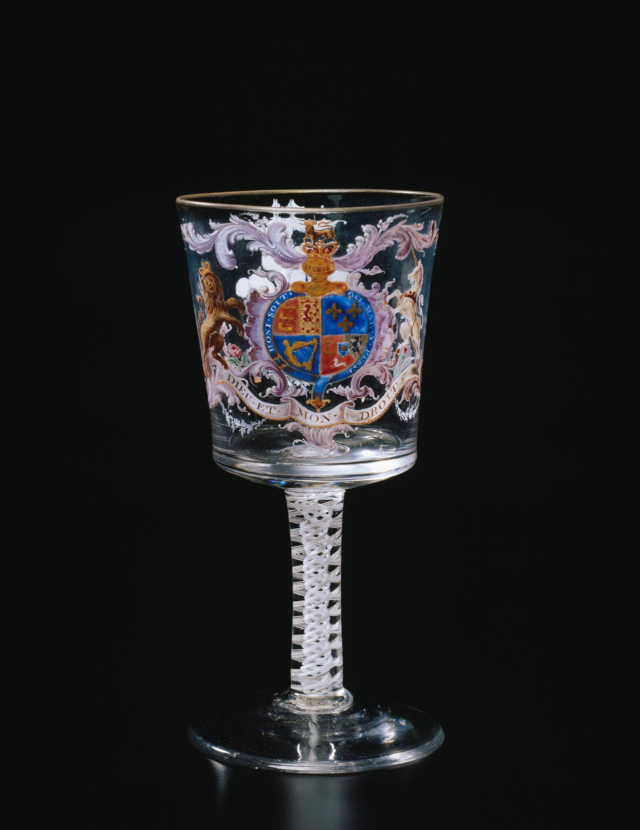 Royal armorial goblet