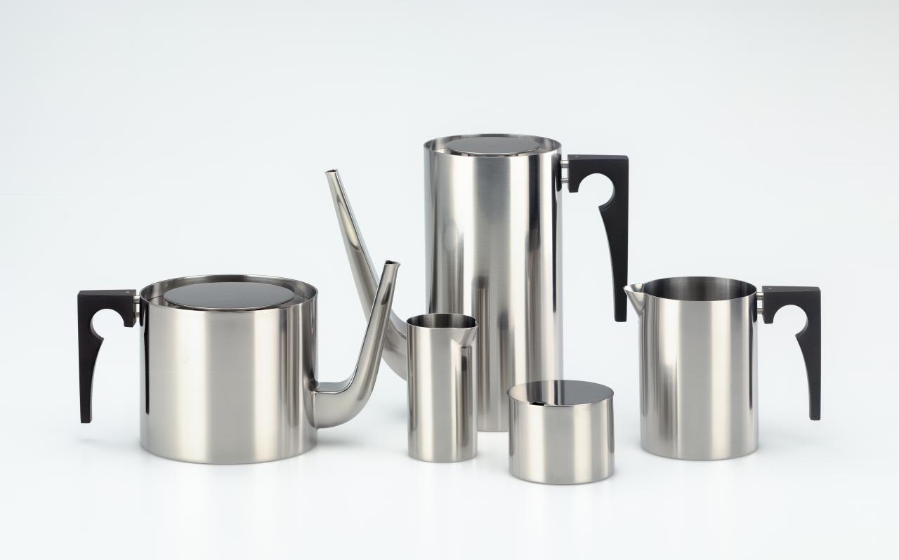 Cylinda-line, tea and coffee set
