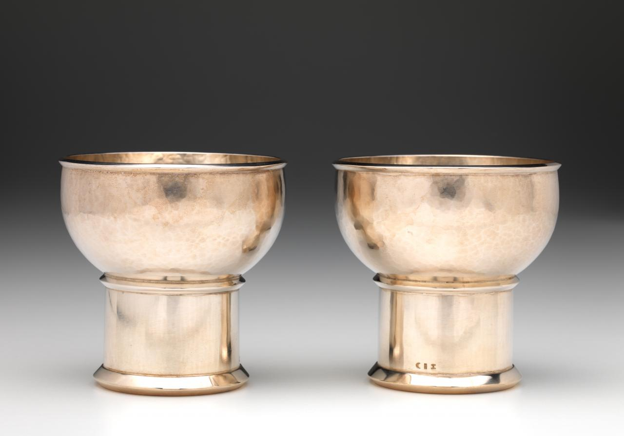 Pair of Kiddush cups