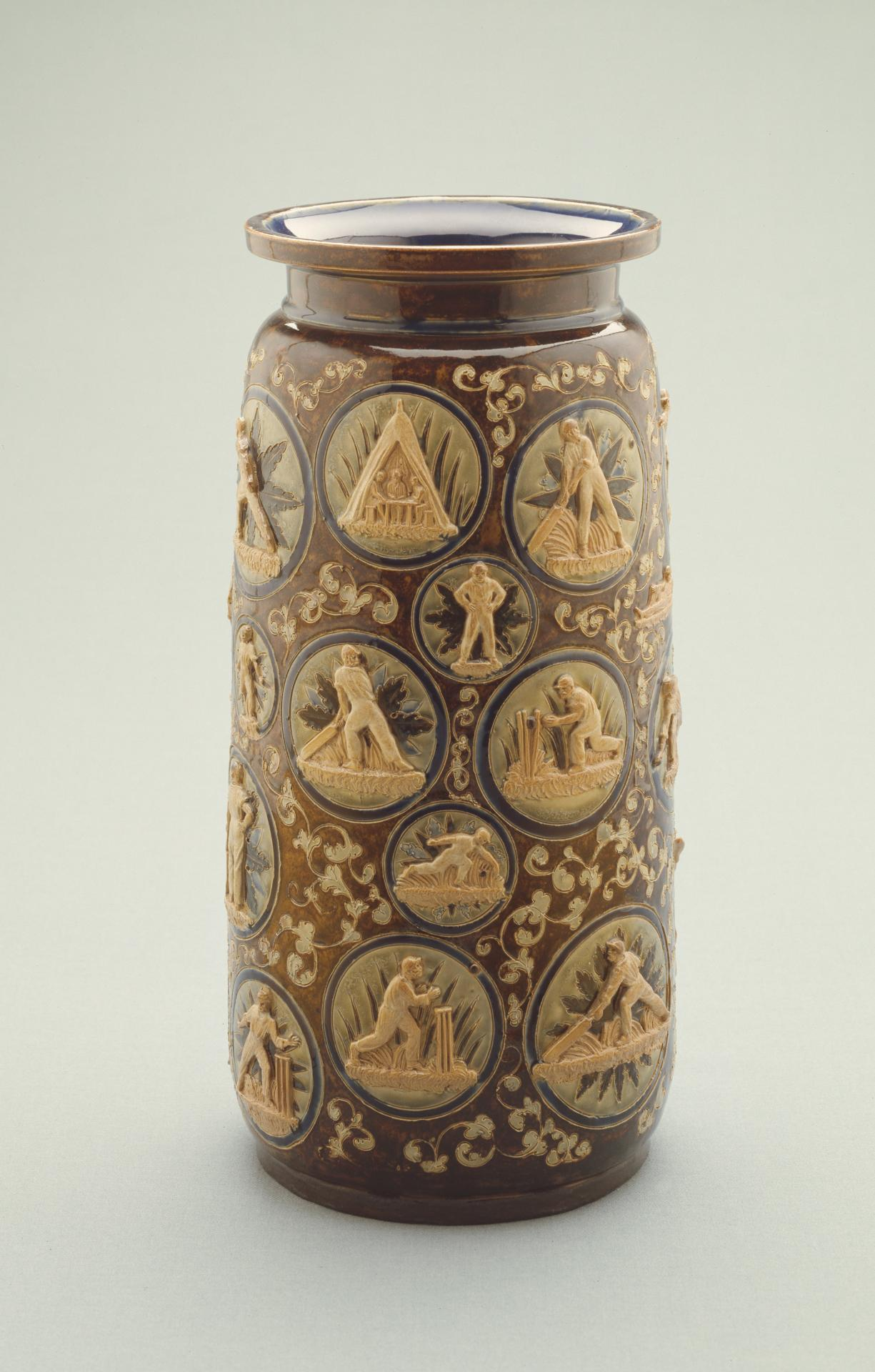 Cricketing vase
