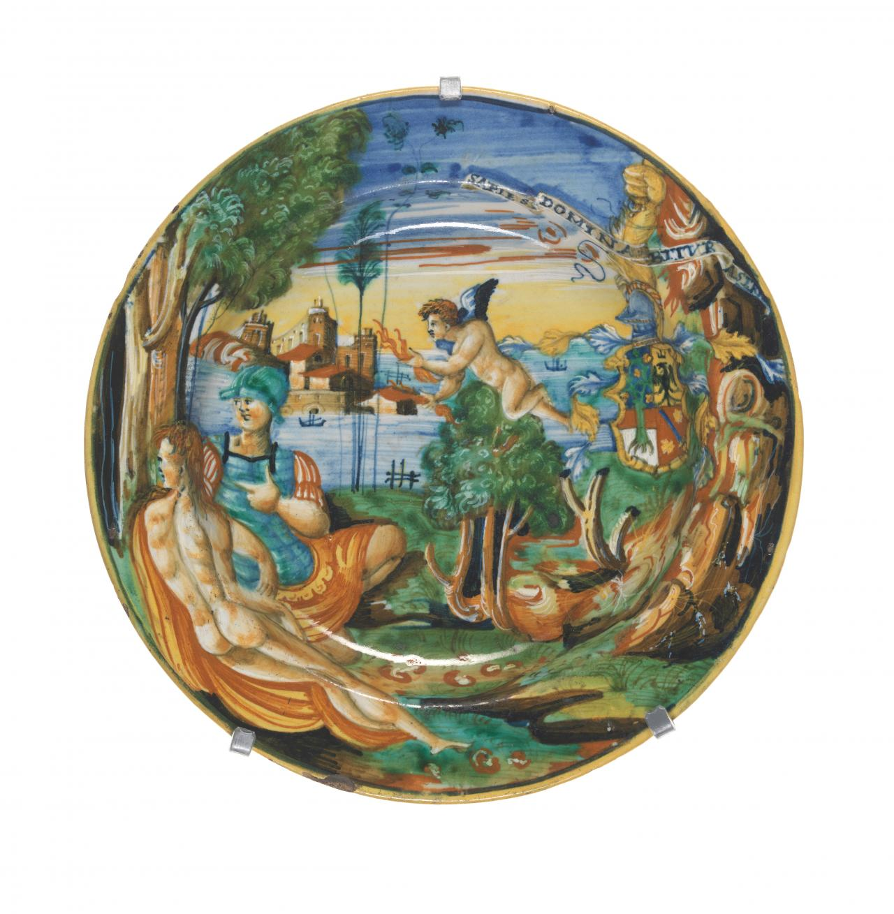 Venus and Mars, bowl from the Sapies service