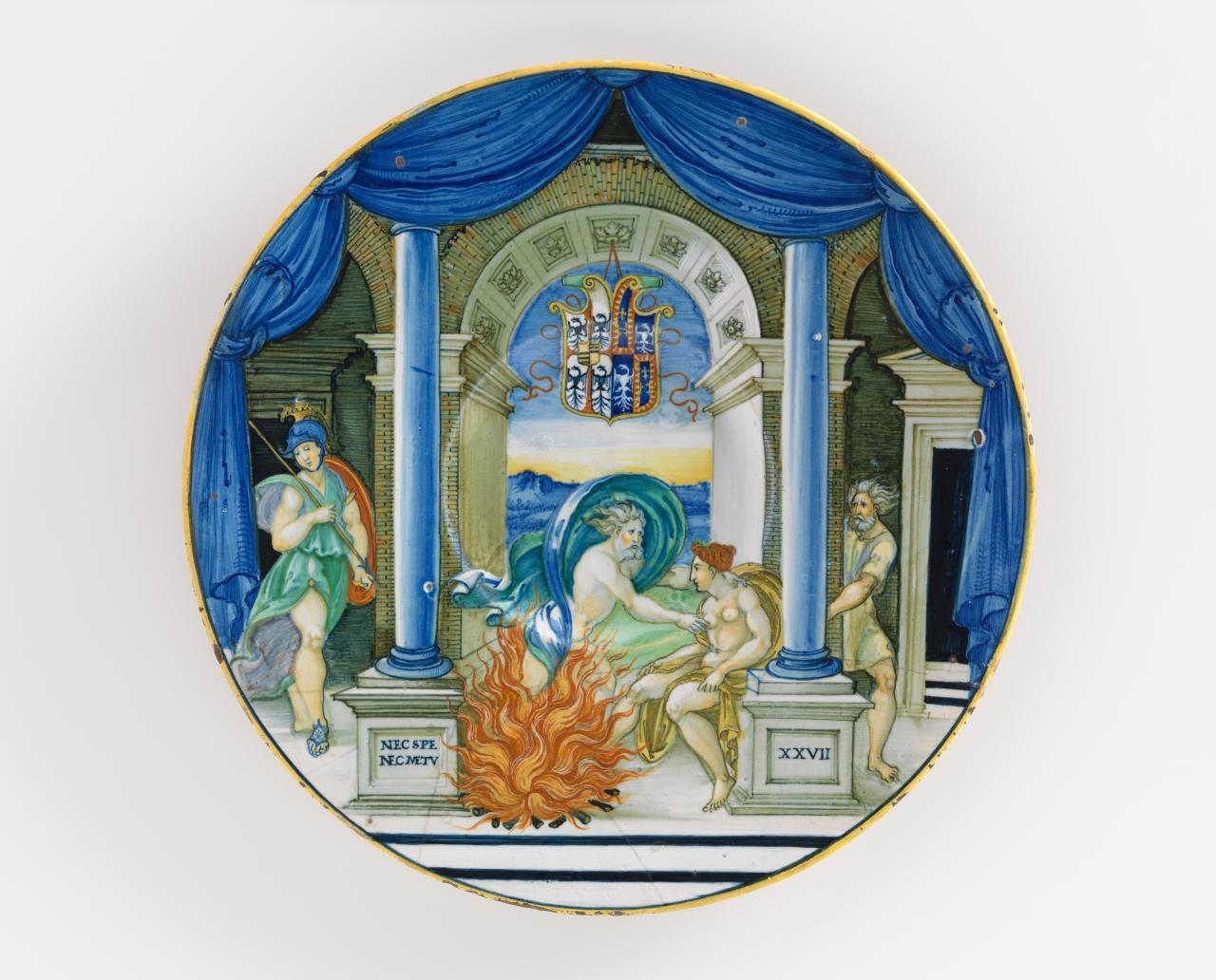 Jupiter and Semele, plate