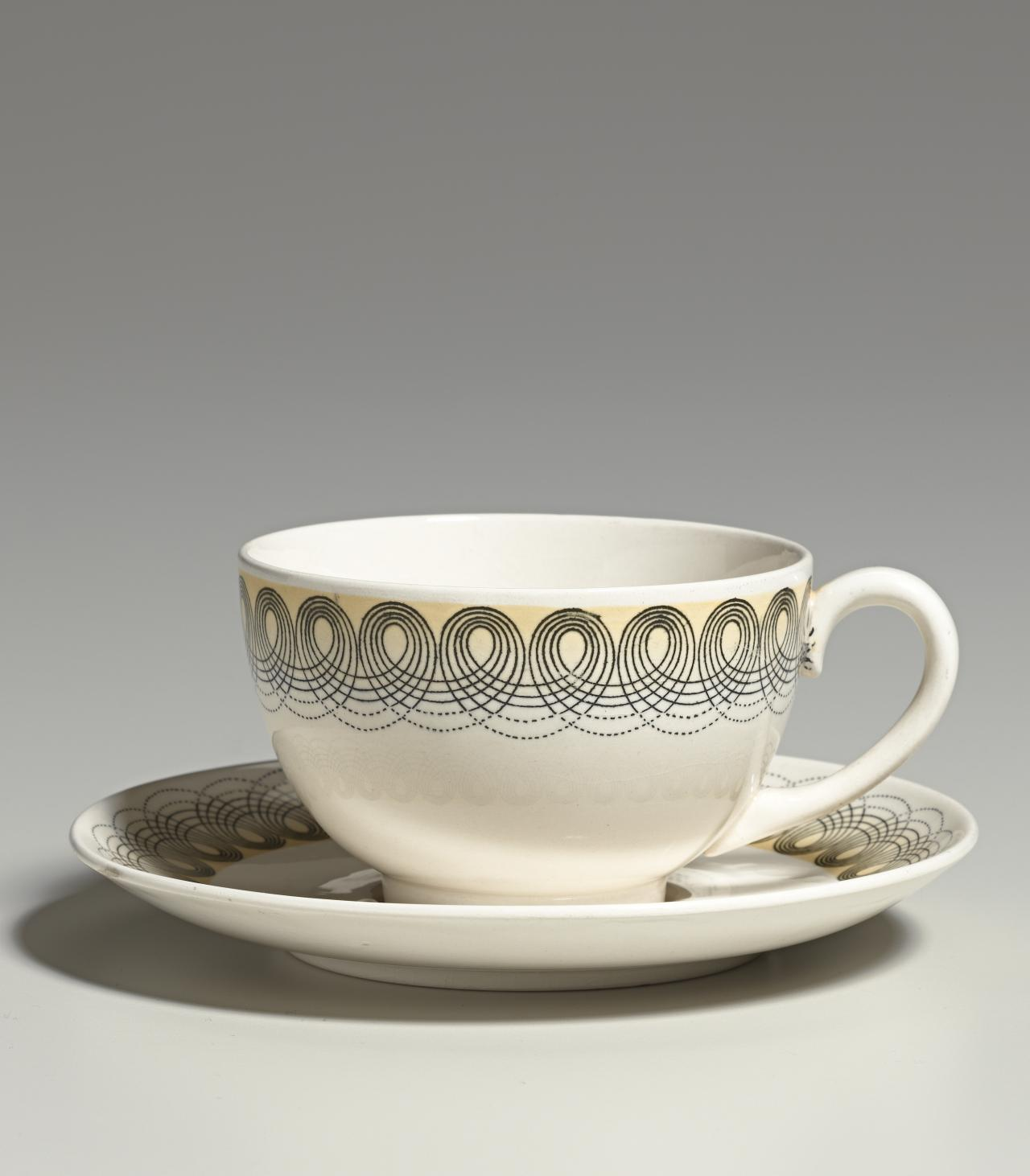 Persephone pattern, cup and saucer