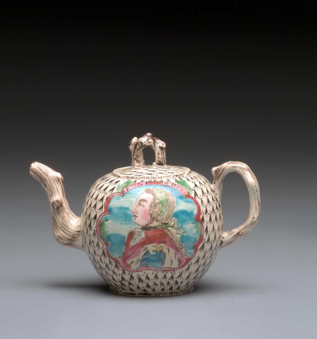 King Frederick of Prussia, teapot